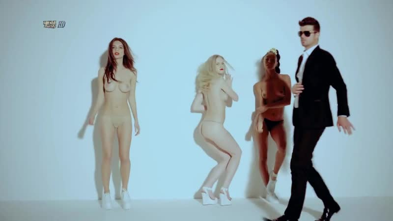 Robin Thicke Pharell Williams ft. T.I. - Blurred Lines (original )