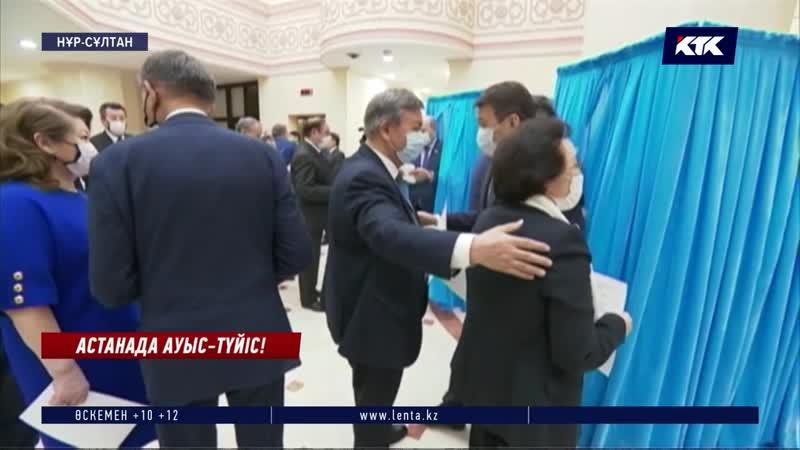 Былтыр Дариға Назарбаеваны бірауыздан қолдаған сенаторлар бүгін қалыс қалмай Әшімбаевқа дауыс берді