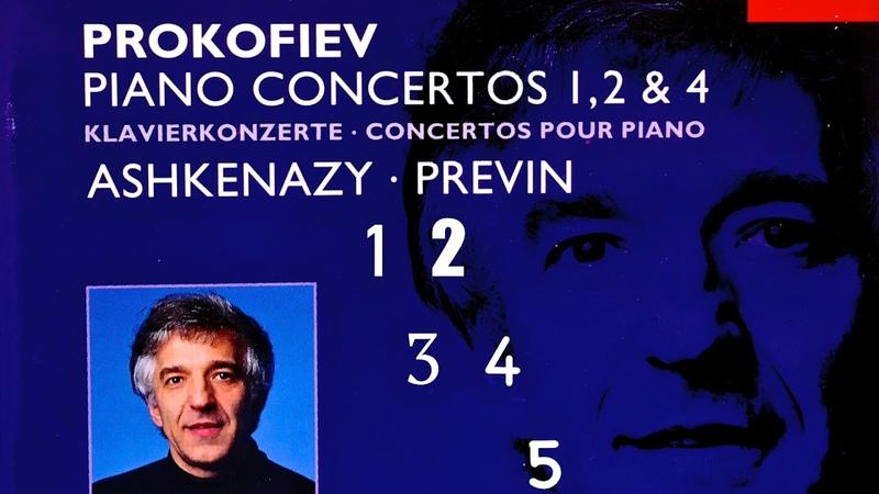Prokofiev Piano Concertos No 1 2 3 4 5 Presentation Century's recording Vladimir Ashkenazy