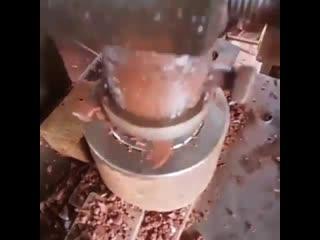 Удивительный процесс работы с глиной