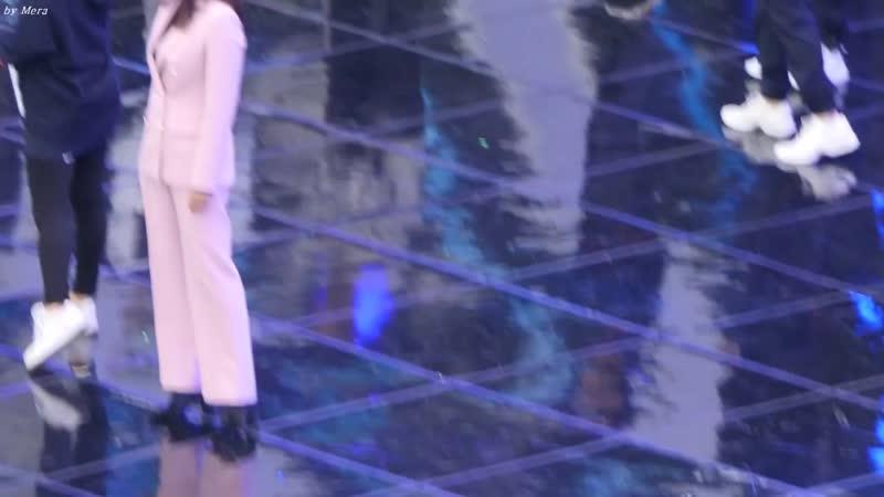 171101 방탄소년단(BTS),엑소(EXO)Butterfly 백현,뷔 친목 엔딩 (Ending) 리허설 [전체] 직캠 Fancam (평창올림픽G-100) by Mera.mp4