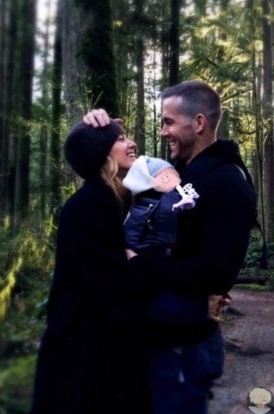 Райан Рейнольдс и Блейк Лайвли показали первое фото новорожденного ребенка и рассекретили его пол
