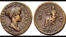 Дупондий, 80 н.э., Монета Тита, Древний Рим, Dupondius, 80 AD