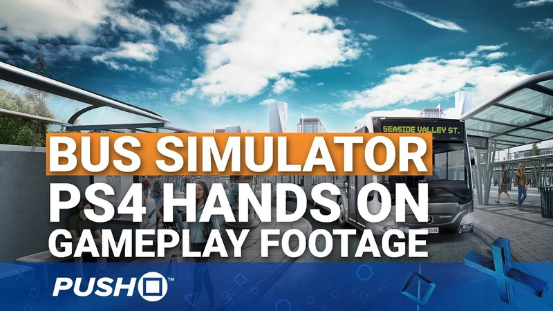 Bus Simulator PS4 Hands On: Going on a Three Hour Ride | PlayStation 4 | Gameplay Footage