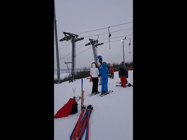 Случай с лыжником на подъемники часть 2 Счастливый конец