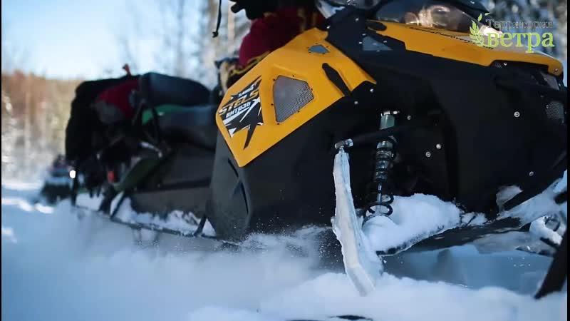 Снегоходный тур в Карелии к горе Воттоваара 3 дня