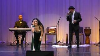 Anastasiya Postnova with Al Azdekaa orchestra. Tarab Aweedt Ayni
