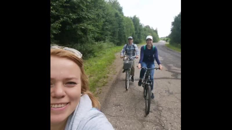 Велопрогулка вокруг Галичского озера 😉