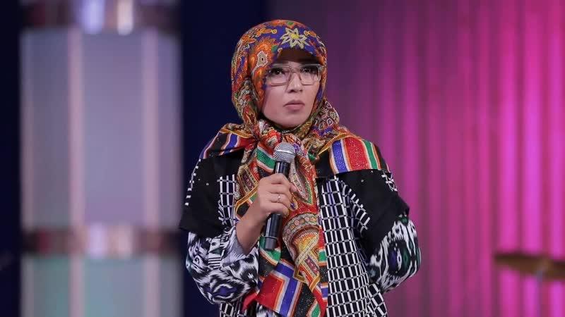 Mahfuza Sherboyeva Bahoriy tabassum nomli konsert dasturi 2019