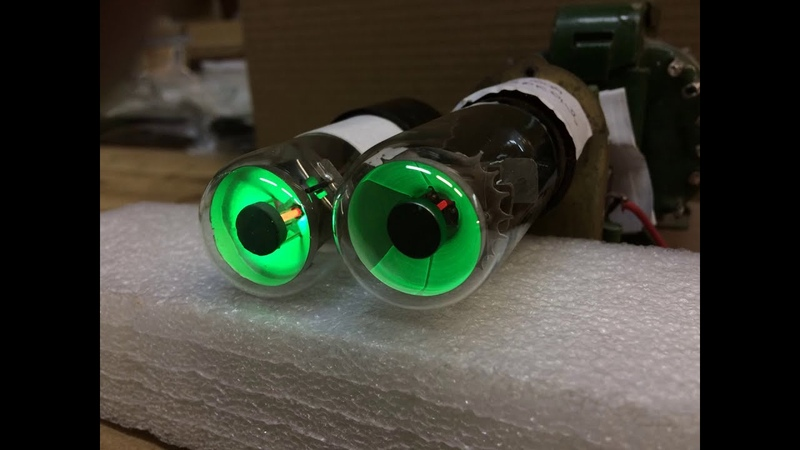 Муляж лампы 6Е5С с имитацией накала