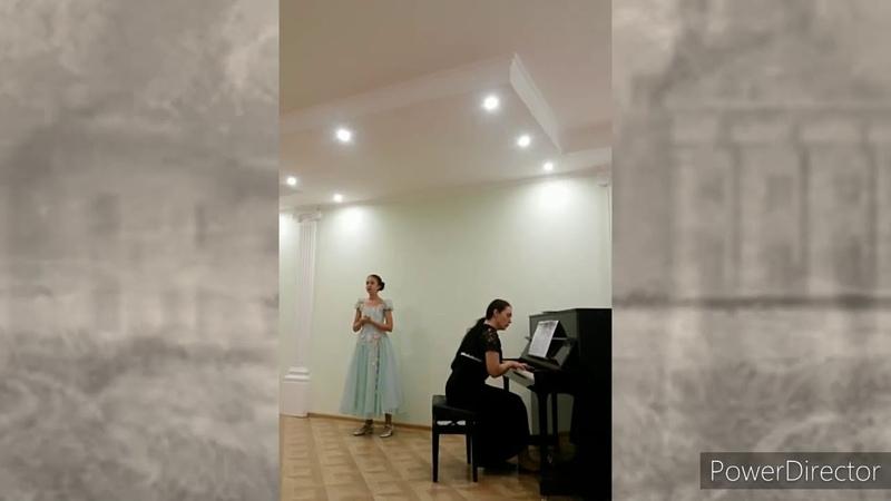 Музыкальный фестиваль Песни о любви Елесина Дарья
