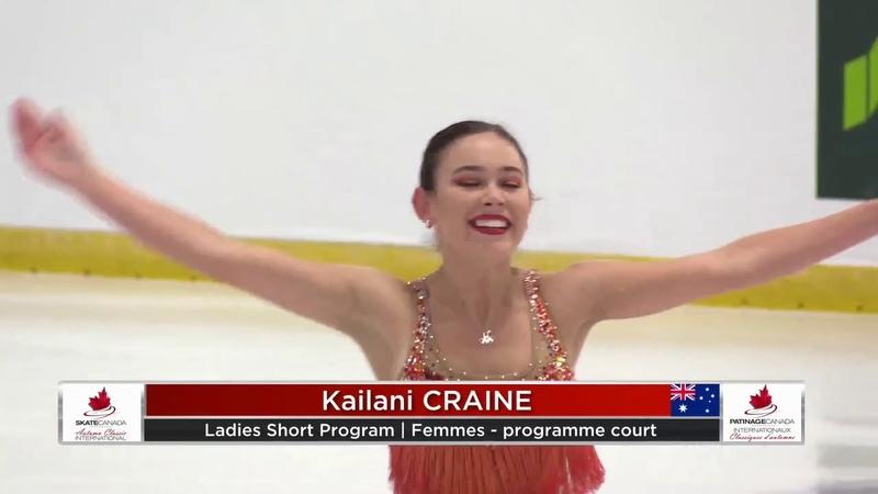 Kailani CRAINE AUS Short Program Autumn Classic International 2019