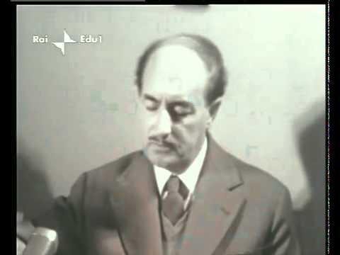 Salvatore Quasimodo - Intervista al poeta PREMIO NOBEL