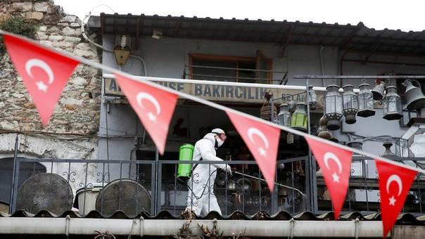 Последние данные о ситуации с коронавирусом в Турции  ➡Подробнее:...