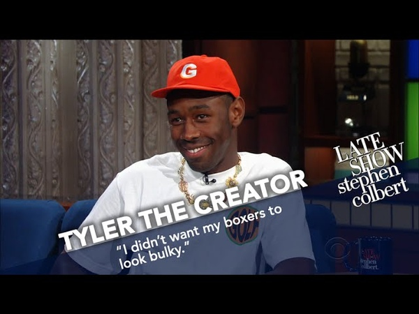Tyler The Creator Wears Boxers In Late Night's Coldest Theater