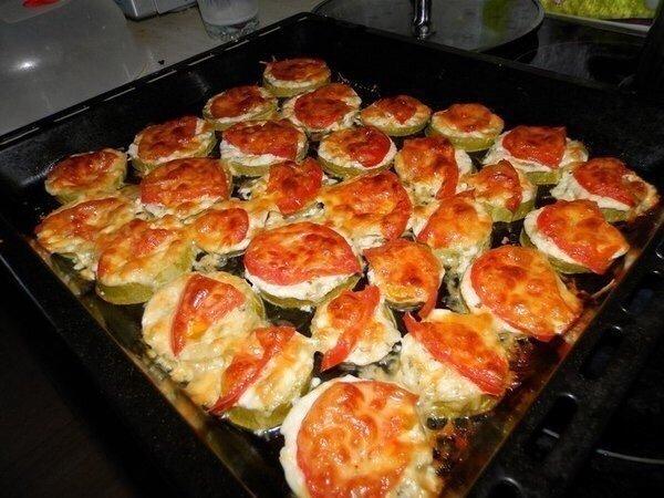 Идеальные Кабачки под сыром