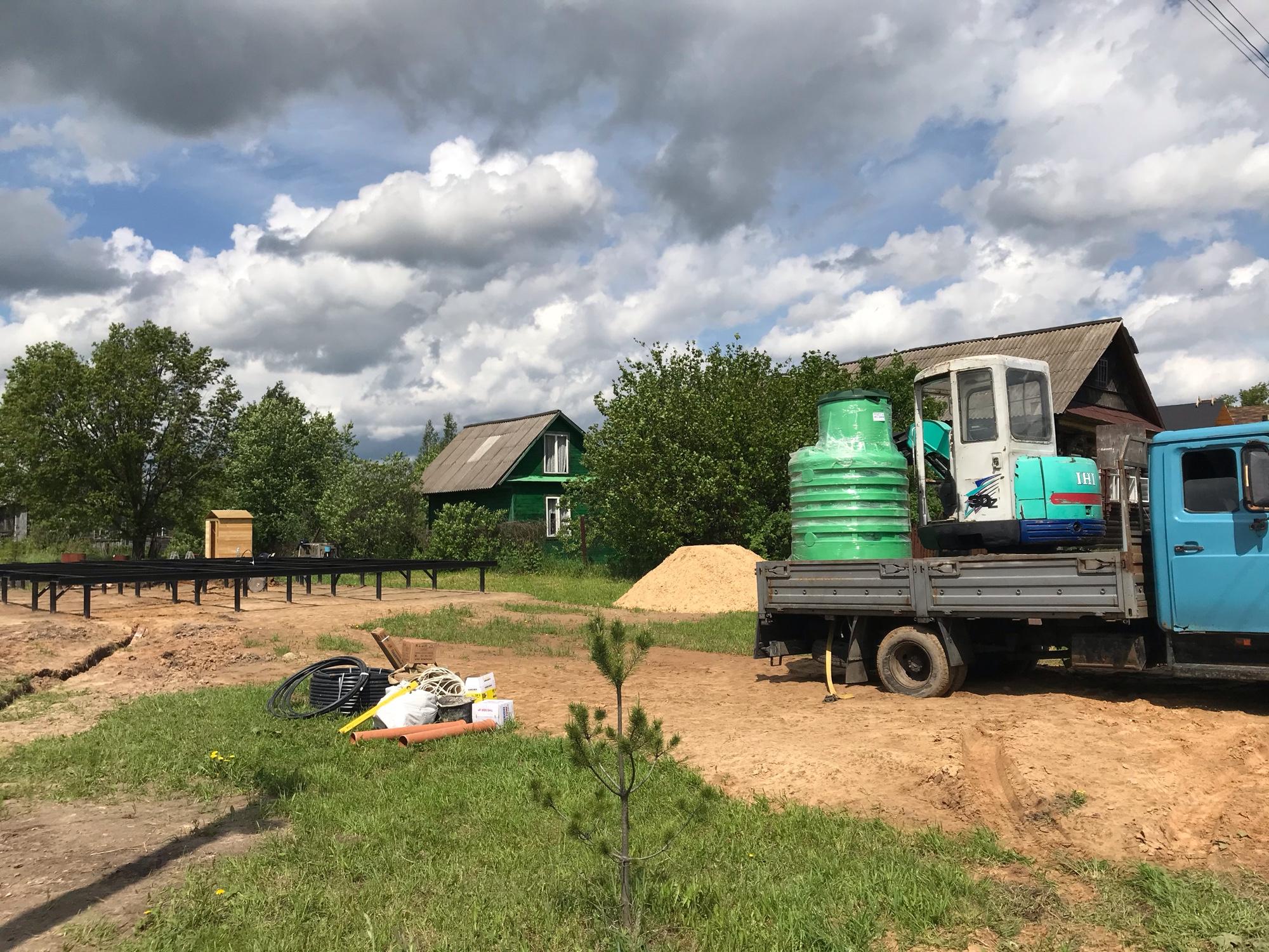 Автономное водоснабжение и канализация дома