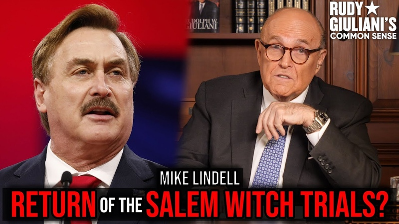 CANCEL CULTURE Return Of The Salem Witch Trials Rudy Giuliani and Mike Lindell Ep 113