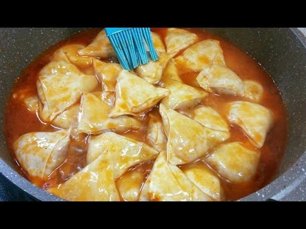 Это блюдо покоряет сразу , ДОЛЖНЫ попробовать ВСЕ ! Хамир хасип без мантоварки Узбекская кухня