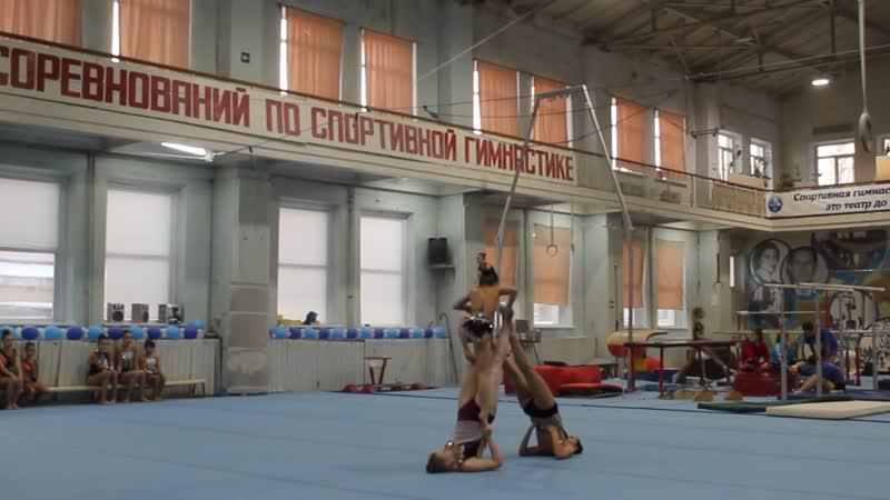 Журавлева Соня, Гришечкина Кристина, Малкова Наташа - 1 сп.р (1упр)