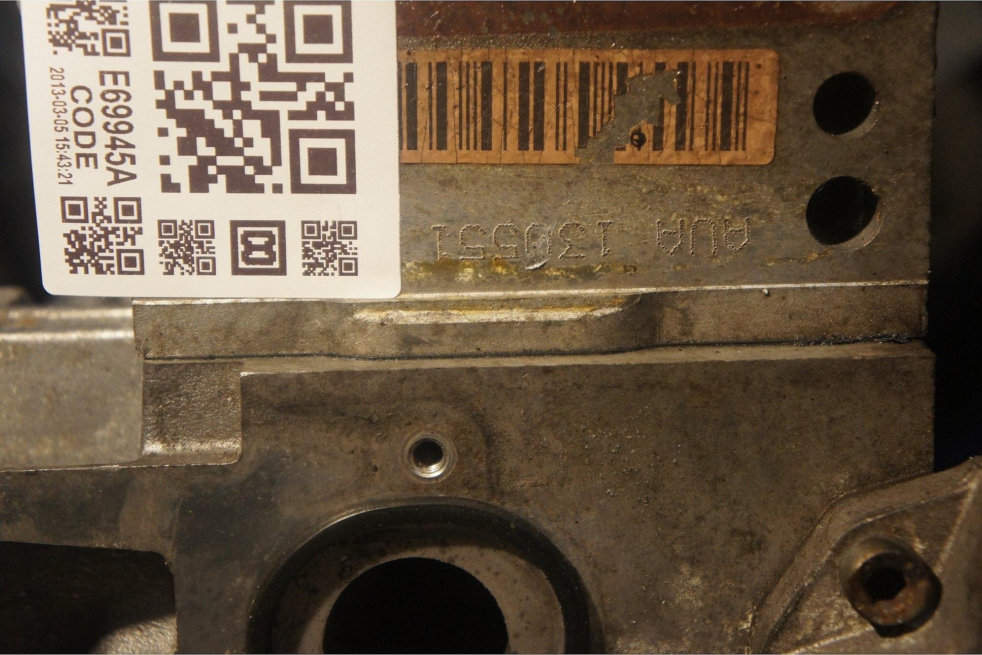 Всем доброго времени, а кто знает где расположен номер двигателя на А2?