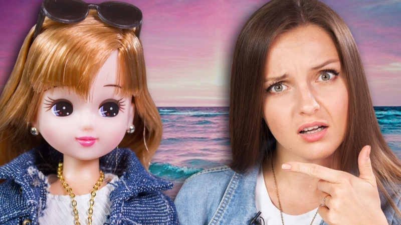 [BersReview] РОДИЛА В 11 ЛЕТ Японская Барби Licca Bijou Ocean carat   Takara Tomy   Обзор и распаковка куклы