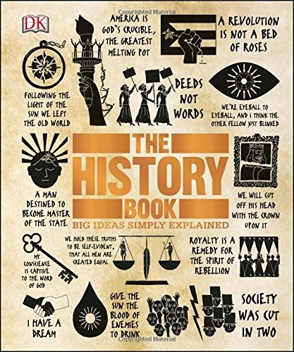 The History Book (Big Ideas Simply Explained) by DK