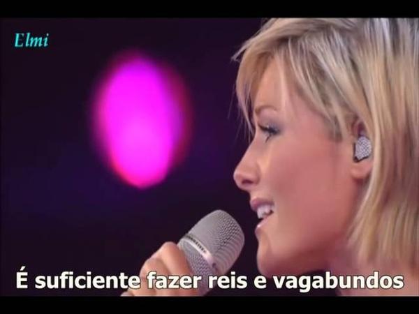 Helene Fischer Can you feel the Love tonigth com legendas em portugues