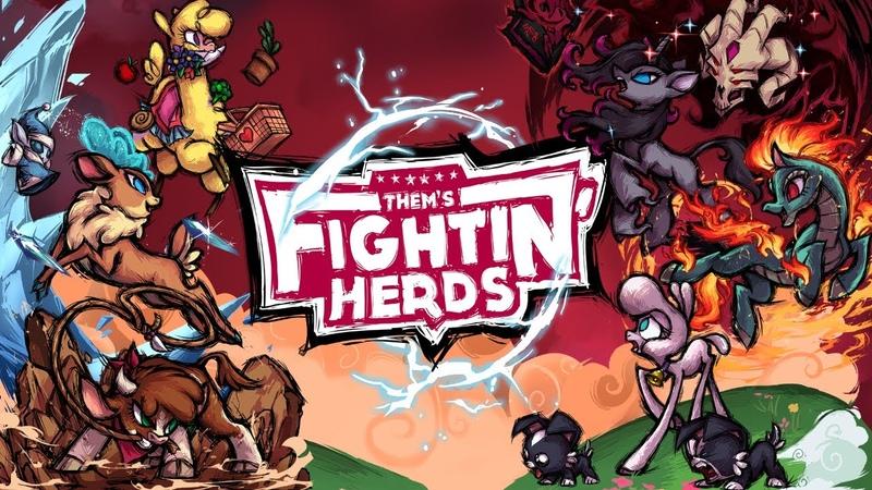 Them's Fightin' Herds 1 0 Launch Trailer