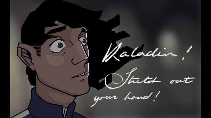 Stormlight Archive Animated Kaladin and Syl Reunite