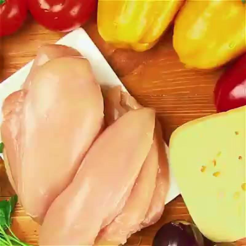 Курица с овощами в духовке. 🍗