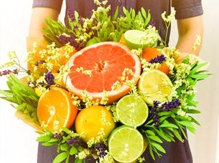 Букет из фруктов | Lipton