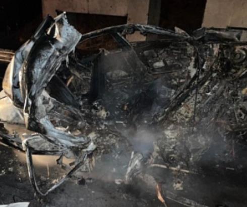 Ночью на трассе водитель заживо сгорел в машинеВод...