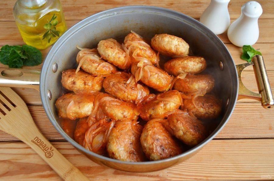 Гречаники с куриным филе