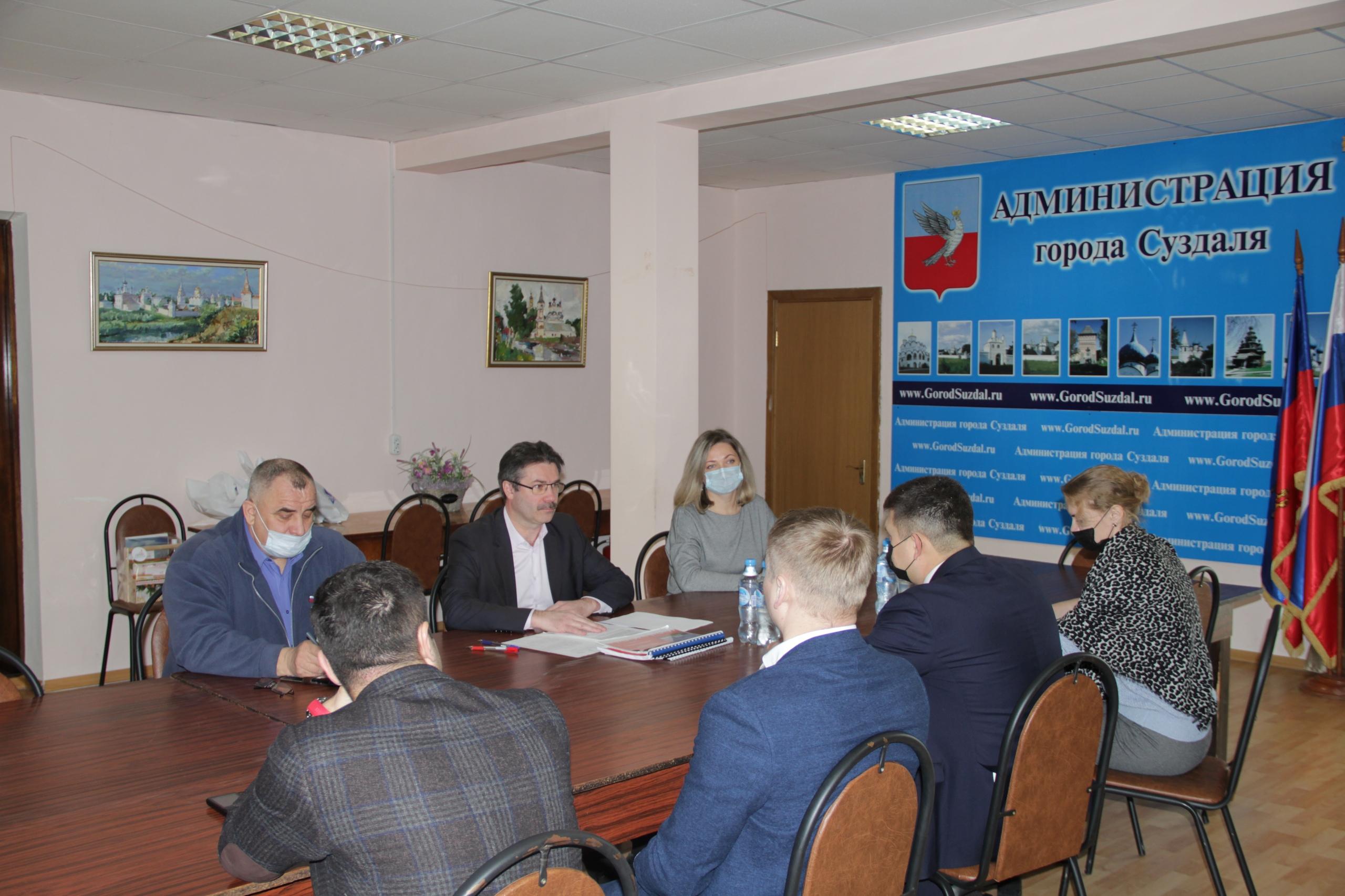 Суздаль посетила официальная делегация из города Сарапула