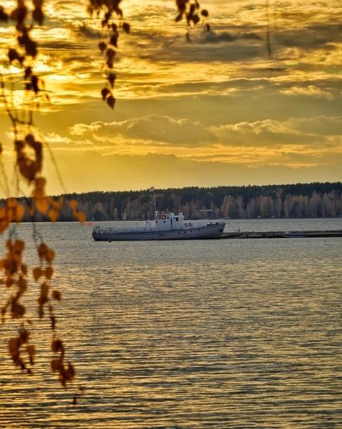 Золотые берега Белоярского водохранилища...