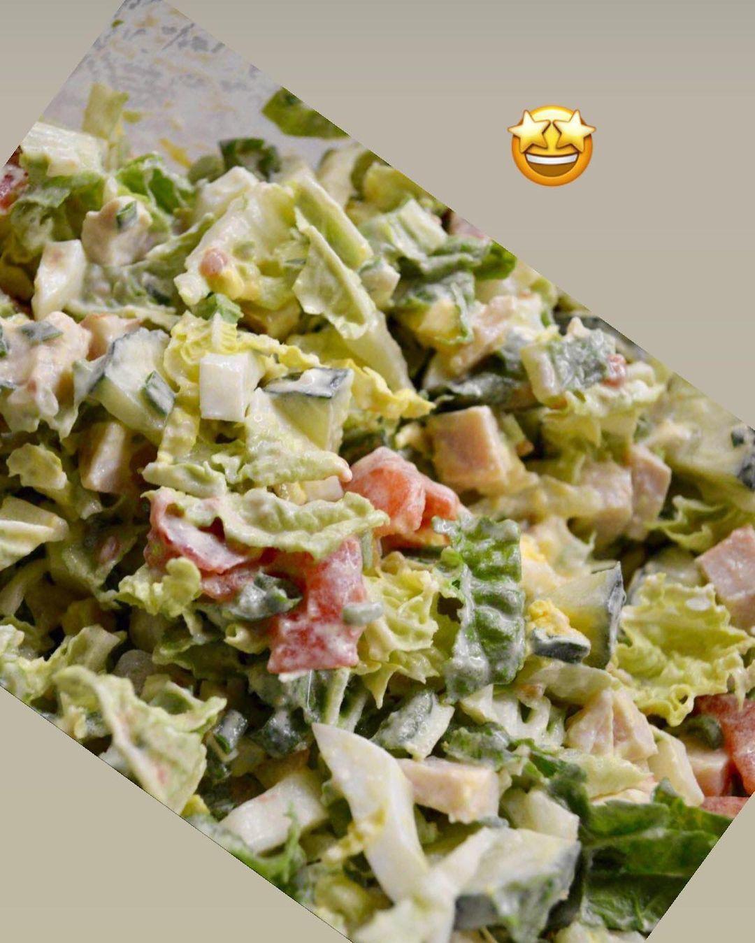 Вкусный салатик на ужин