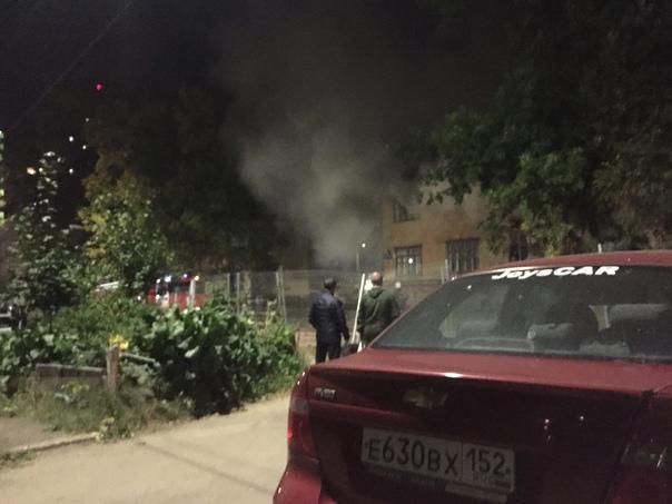 Ближе к 9 часам вечера в Приокском раёне, на улице батумс...