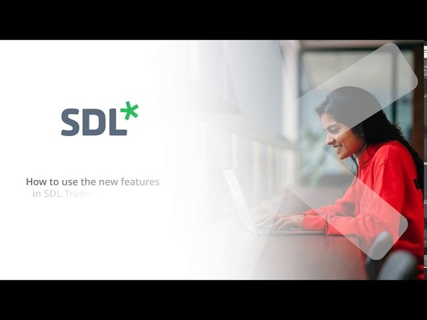 How to use the new features in SDL Trados Studio 2021