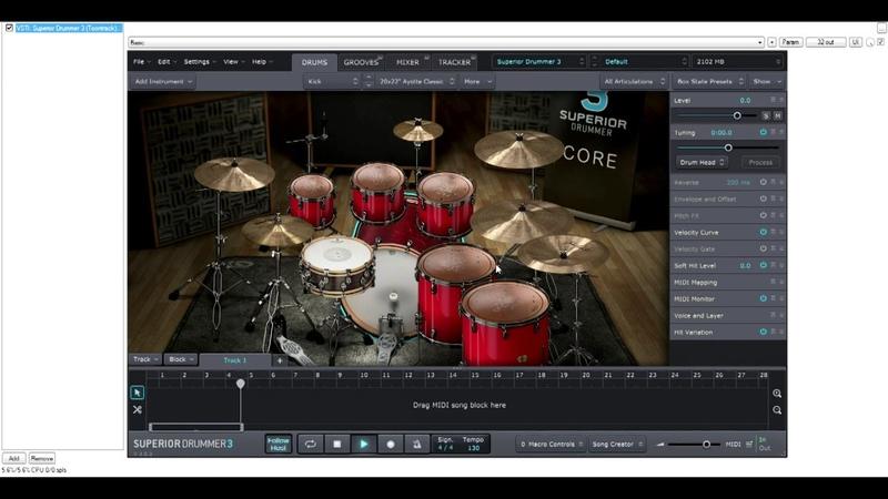 ЭТО(Артём Конник)- REAPER Перевод VSTi Барабанов из MIDI в AUDIO Multitrack