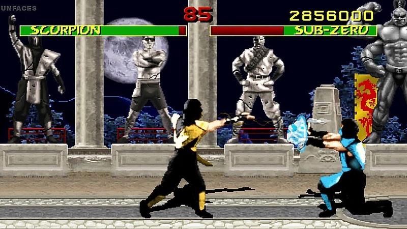 DAN FORDEN - The Warrior Shrine [UnFaces Remix 2020] OST MK 1 - arcade version