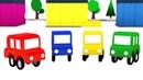 4 машинки наводят чистоту дома, на улице и автомойке! Развивающие мультики для детей про машинки