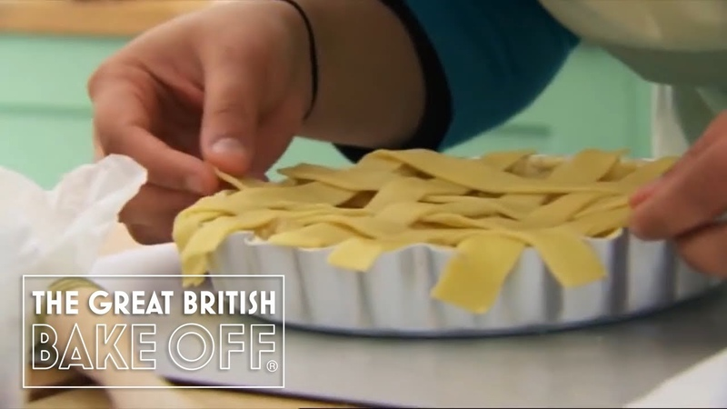 How to make a pastry lattice The Great British Bake Off