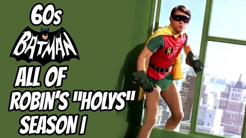 60s Batman ROBIN'S HOLYS Season 1