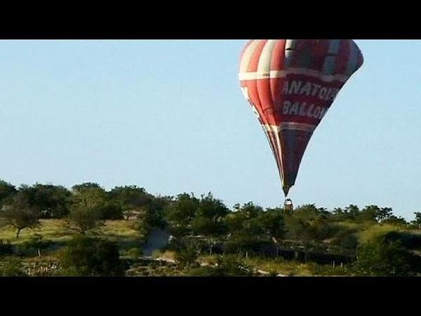 В Турции упал воздушный шар погибли 2 бразильянки
