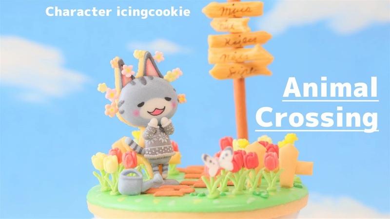 祝・LINEニュースに載りました! ラムネちゃんのアイシングクッキー 2