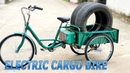 Build Electric Cargo Bike Using 750W Reducer Brushless Motor