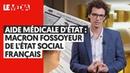 AIDE MEDICALE DETAT, MACRON FOSSOYEUR DE LETAT SOCIAL