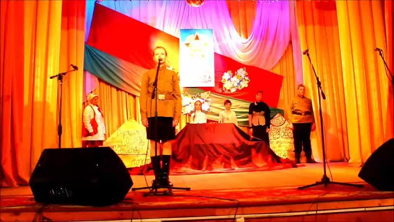 3 Літаратурна музычная кампазіцыя Письма с войны помогавшие жить Башнеўскі СК театральны калектыў ПРЭМ'ЕРА mp4