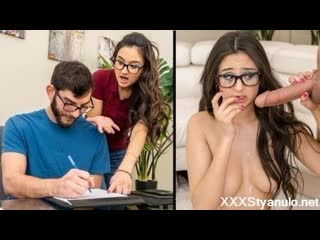 Eliza Ibarra - Teaching The Tutor [All Sex, Blowjob, Doggystyle